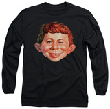 Long Sleeve: Mad Magazine - Alfred Head Shirts