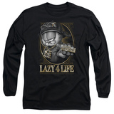Long Sleeve: Garfield - Lazy 4 Life Shirts