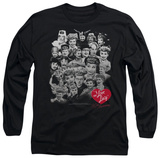 Long Sleeve: I Love Lucy - 60 Years Of Fun T-Shirt