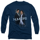 Long Sleeve: Numb3Rs - Don & Charlie T-Shirt