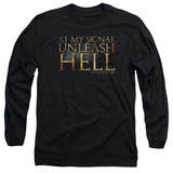 Long Sleeve: Gladiator - Unleash Hell Long Sleeves