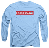 Long Sleeve: Nurse Jackie - Logo T-Shirt