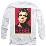 Long Sleeve: James Dean - Rebel Campaign T-Shirt