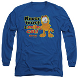 Long Sleeve: Garfield - Smiling T-shirts