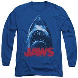 Long Sleeve: Jaws - From Below T-Shirt