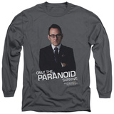 Long Sleeve: Person Of Interest - Paranoid Shirts