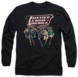 Long Sleeve: Justice League - Charging Justice T-shirts