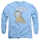 Long Sleeve: Garfield - Smiling Cat Shirts