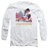 Long Sleeve: Gone With the Wind - On Fire T-Shirt