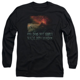 Long Sleeve: Lord Of The Rings - Walk In Mordor T-shirts
