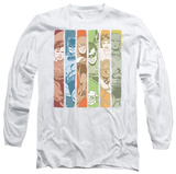 Long Sleeve: Justice League - Justice League Columns T-Shirt