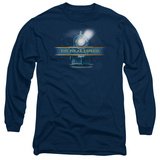 Long Sleeve: Polar Express - Train Logo Shirt
