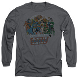 Long Sleeve: Justice League - Join The Justice League T-shirts