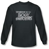 Long Sleeve: Invasion of the Body Snatchers - Distressed Logo Shirts