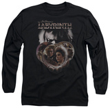 Long Sleeve: Labyrinth - Globes T-shirts