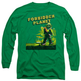 Long Sleeve: Forbidden Planet - Old Poster T-Shirt