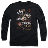 Long Sleeve: Labyrinth - Right Words T-Shirt