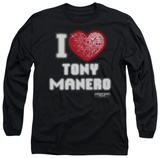Long Sleeve: Saturday Night Fever - I Heart Tony T-shirts