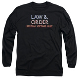 Long Sleeve: Law & Order: SVU - Logo Long Sleeves