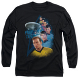Long Sleeve: Star Trek - Among The Stars T-shirts