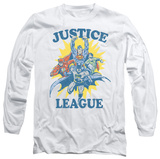 Long Sleeve: Justice League - Let's Do This T-Shirt