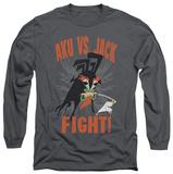 Long Sleeve: Samurai Jack - Jack Vs Aku T-shirts