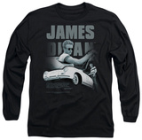 Long Sleeve: James Dean - Immortality Quote T-shirts
