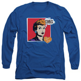 Long Sleeve: I Love Lucy - I Love Worhol Omg T-Shirt