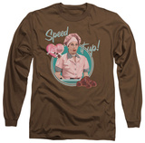 Long Sleeve: I Love Lucy - Speed It Up T-Shirt