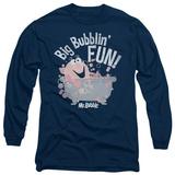Long Sleeve: Mr Bubble - Big Bubblin Fun T-Shirt