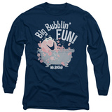 Long Sleeve: Mr Bubble - Big Bubblin Fun T-shirts