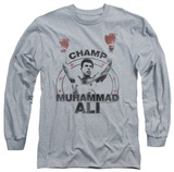 Long Sleeve: Muhammad Ali - Number One T-Shirt