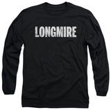 Long Sleeve: Longmire - Logo T-Shirt