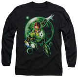 Long Sleeve: Green Lantern - Galaxy Glow Shirts