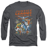 Long Sleeve: Justice League - Big Group T-shirts