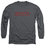 Long Sleeve: Nikita - Logo T-Shirt