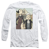 Long Sleeve: Popeye - Popeye Gothic Long Sleeves