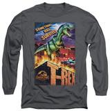 Long Sleeve: Jurassic Park - Rex In The City T-Shirt