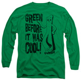 Long Sleeve: Gumby - Cool Green T-shirts