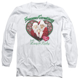 Long Sleeve: I Love Lucy - Seasons Greetings T-Shirt