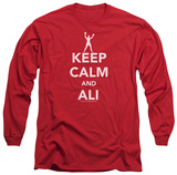 Long Sleeve: Muhammad Ali - Keep Calm And Muhammad Ali T-Shirt