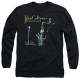 Long Sleeve: John Coltane - Paris Coltrane T-Shirt