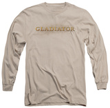 Long Sleeve: Gladiator - Logo Shirt
