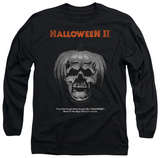 Long Sleeve: Halloween II - Pumpkin Poster T-Shirt