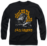 Long Sleeve: Miles Davis - Jazz Legend T-shirts