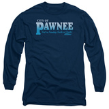Long Sleeve: Parks & Recreation - Pawnee T-Shirt