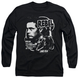 Long Sleeve: James Dean - Rebel Cover Shirt