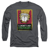 Long Sleeve: Garfield - I Don't Do Ordinary T-shirts