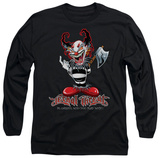 Long Sleeve: Lethal Threat - Ax Clown T-shirts