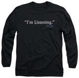Long Sleeve: Frasier - I'm Listening T-Shirt